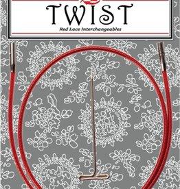 """ChiaoGoo ChiaoGoo Twist Red Cable 22"""" - Mini"""