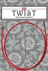 """ChiaoGoo ChiaoGoo Twist Red Cable 14"""" - Mini"""