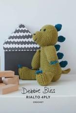 Debbie Bliss Crochet Dinosaur