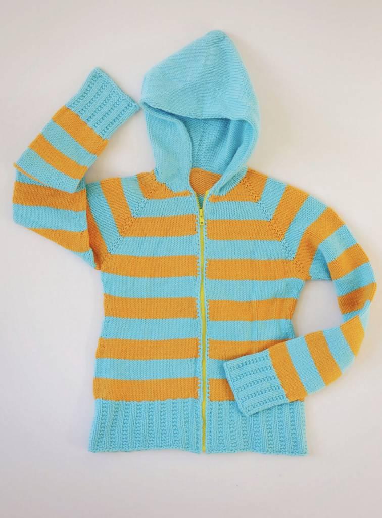 Spud&Chloe Spud & Chloe School Colors Hoodie Pattern  #9519