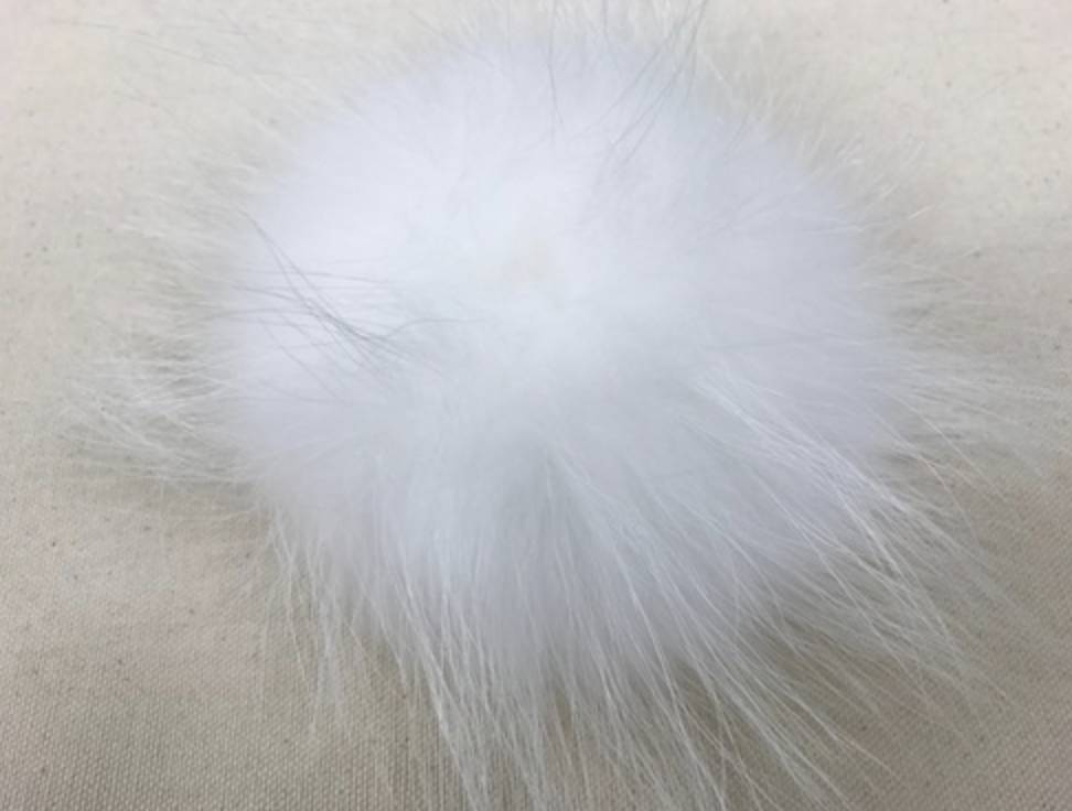 Big Bad Wool Big Bad Wool XL White Pom Pom