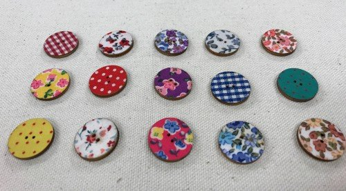 "Big Bad Wool Cloth 3/4"" Buttons By Big Bad Wool"