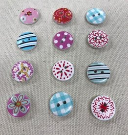 Big Bad Wool Big Bad Wool Red Kitchen Buttons