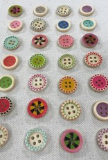 """Big Bad Wool Candy 5/8"""" Buttons By Big Bad Wool"""