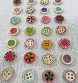 "Big Bad Wool Candy 5/8"" Buttons By Big Bad Wool"