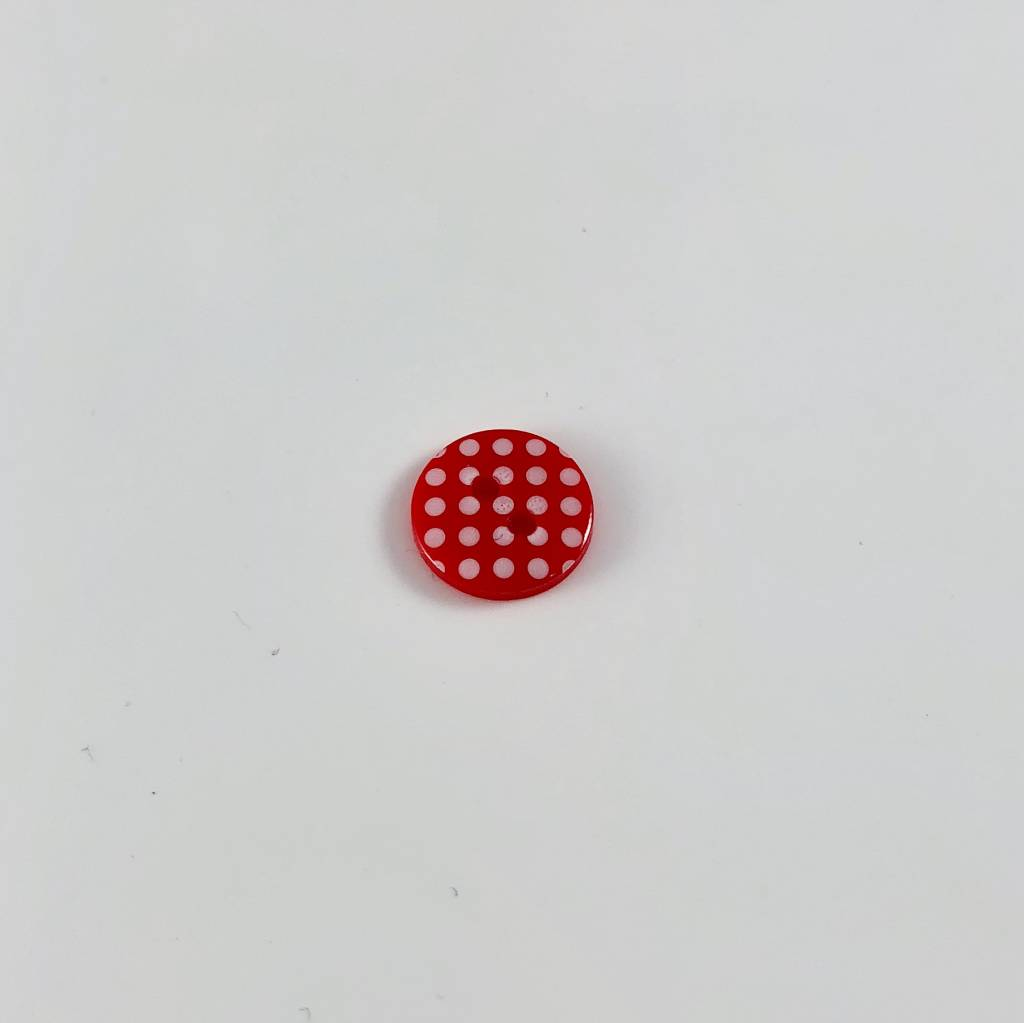 2-Hole Polka Dot Button