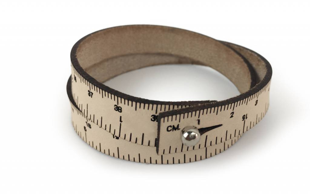 ILOVEHANDLES Wrist Ruler in Natural Size 16""