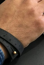 ILOVEHANDLES Wrist Ruler in Black Size 15""