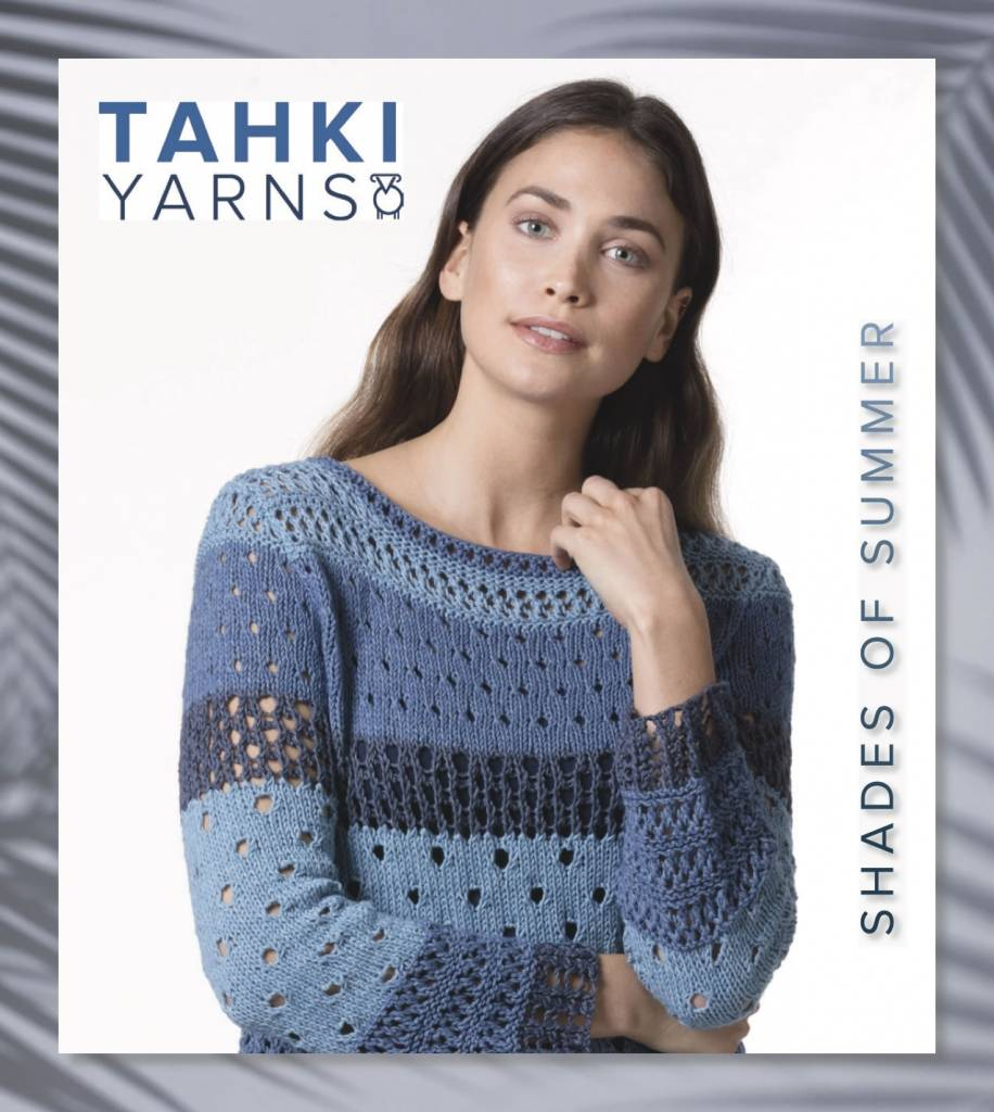 Tahki Stacy Charles Tahki Shades Of Summer Pattern Book