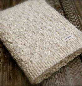 Big Bad Wool Big Bad Wool Basketweave Blanket Pattern
