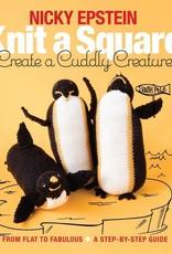 KNIT A SQUARE Creat a Cuddly Creature Book