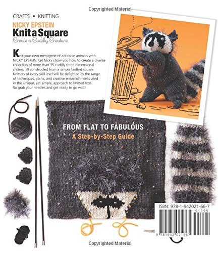 Knit A Square Creat A Cuddly Creature Book Woolly Co