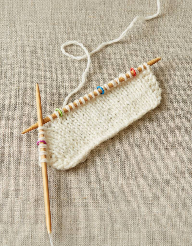 Cocoknits Cocoknits Small Colored Ring Stitch Markers -Small Up To US7