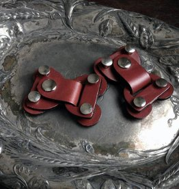 Jul Designs Jul Lock Toggle Leather Closure Chestnut