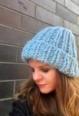 Woolly&Co. Ski hat light blue