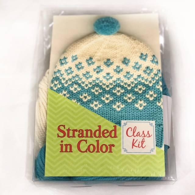 Stranded in Color Hat Kit