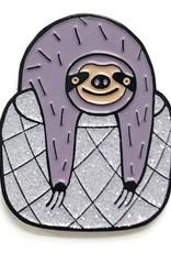 shelli Can Slow Knitter's Club Pin (Disco 1 )