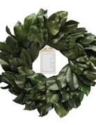Wreath - Preserved Magnolia - 20""