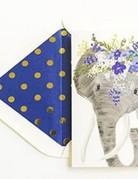 Card - Talulah Elephant Floral Crown