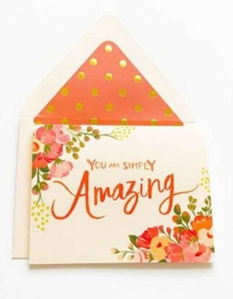 Card - You Are Simply Amazing