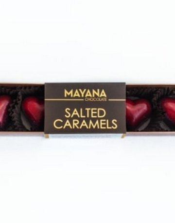 Heart Salted Caramels - 5 Pieces