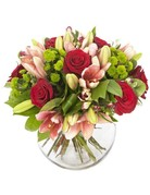Platinum Half-Dozen with Premium Flowers and Accents