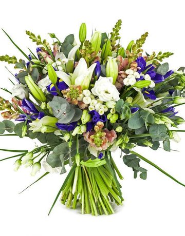Platinum Arrangement - Mixed Flowers