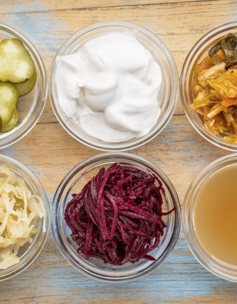 Class:  August 18th - Fermented Foods Class - Deluxe