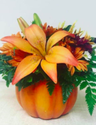 Class:  October 25th - Floral Design  in a Ceramic Vase