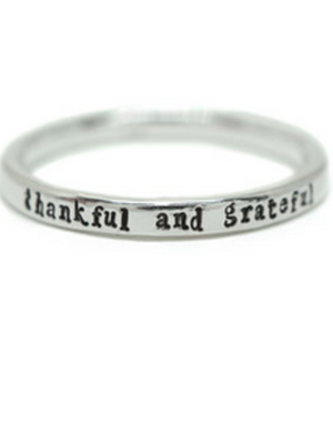 Ring - Thankful and Grateful