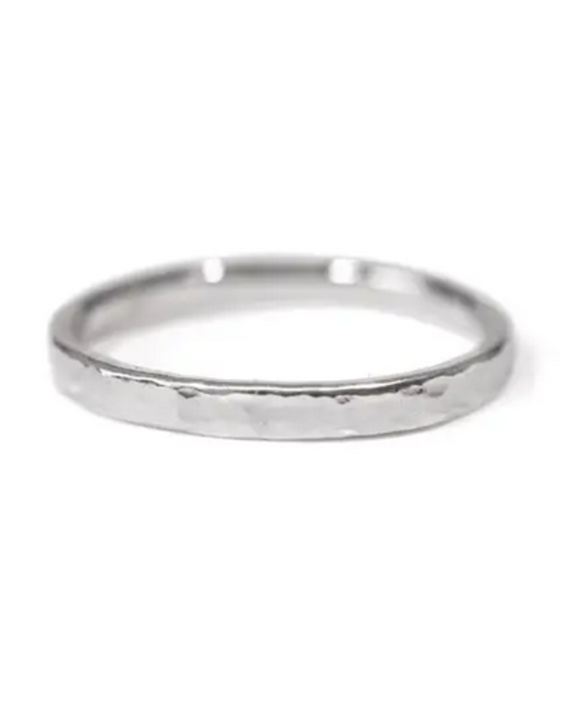 Ring - Essential Band - Hammered