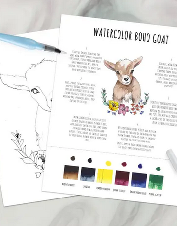 DIY - Watercolor Kit