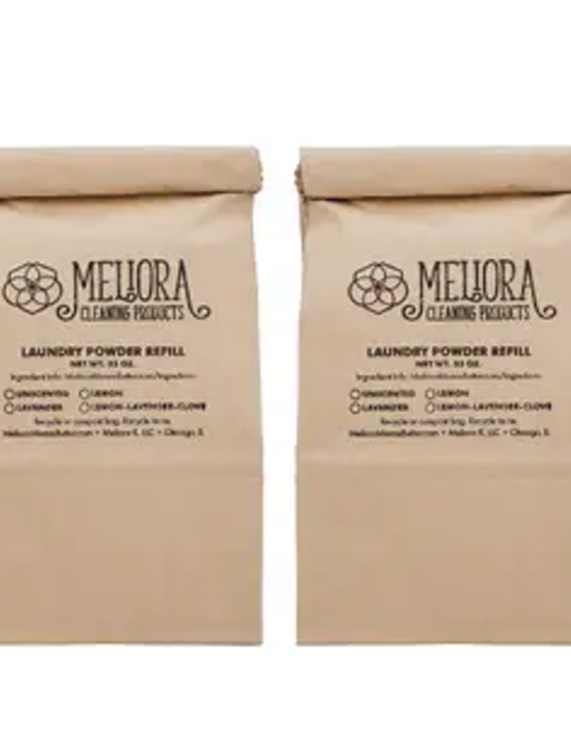 Laundry Powder - 128HE/64STND - Lemon/Lavender/Clove - Zero Waste - Per Ounce