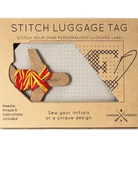 DIY - Leather Cross Stitch Luggage Tag