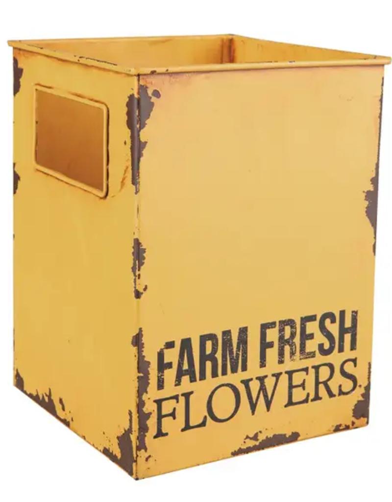Flower Tin - Farm Fresh