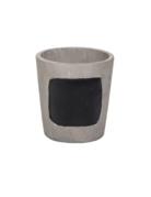 Planter - Mini Cement Chalkboard
