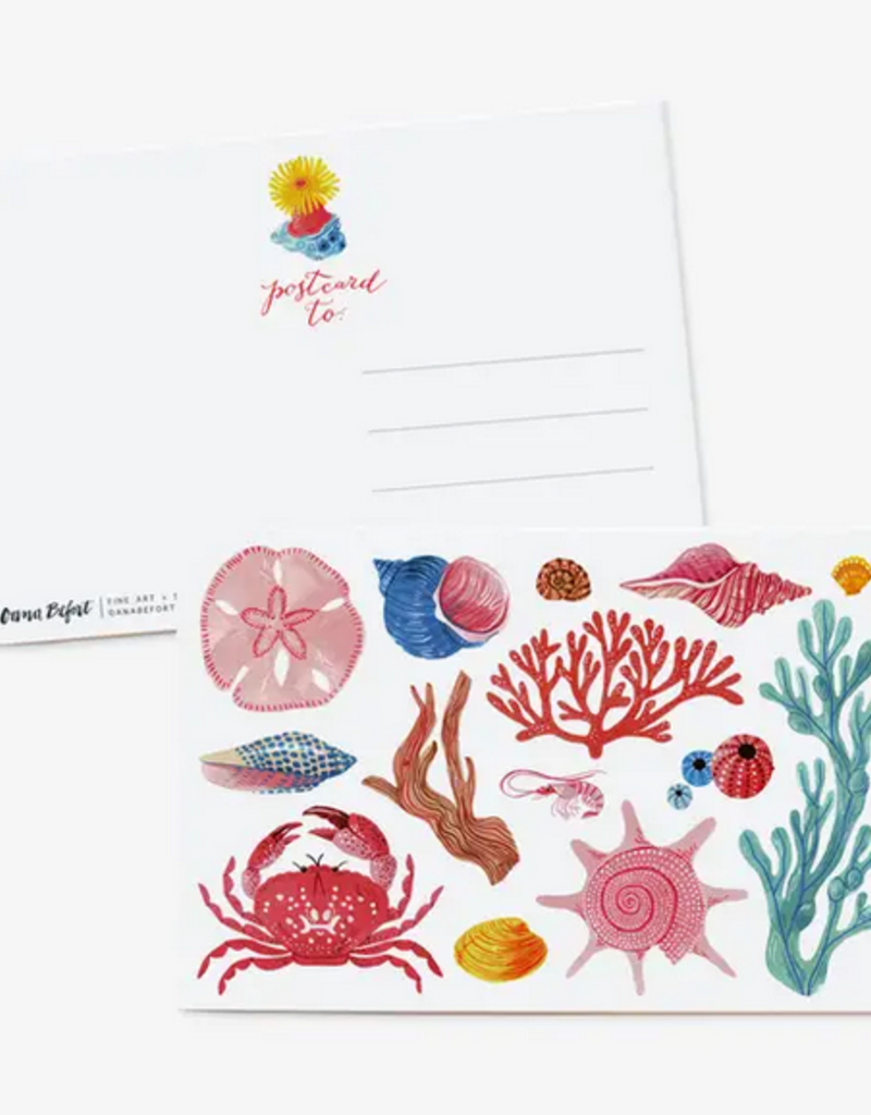 Oana Befort - Sea Creatures Postcard