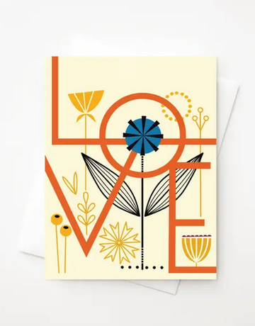 Amber Leaders Designs - Love Card