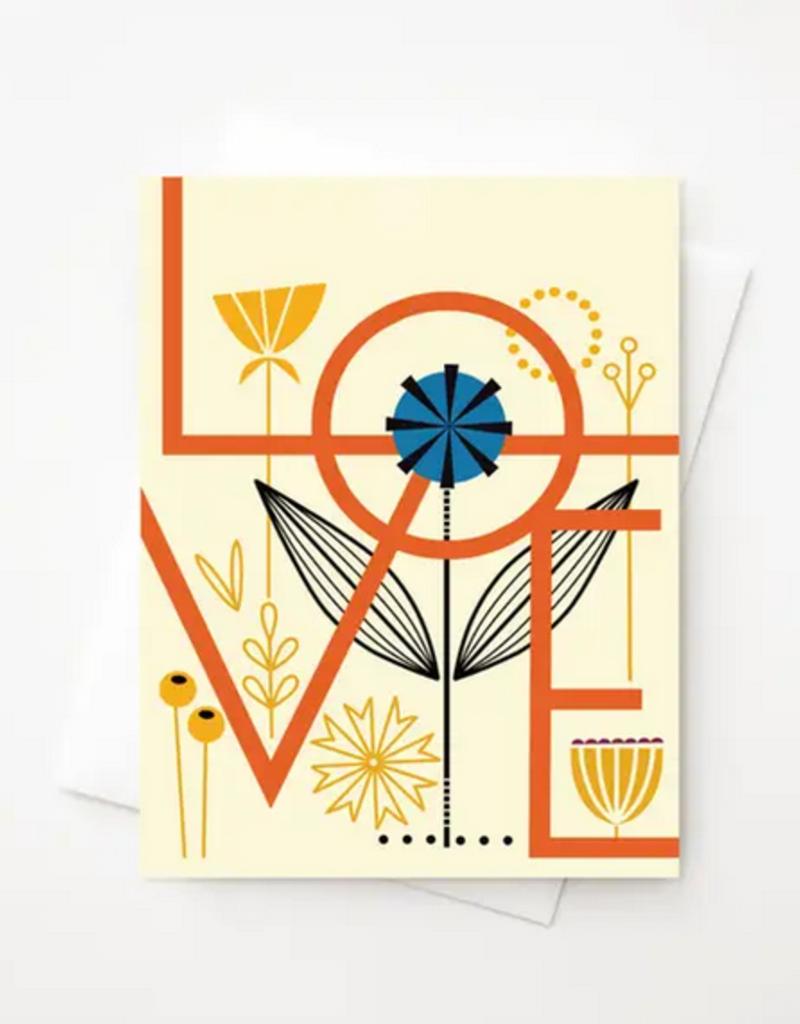 Amber Leaders Designs - Love Card