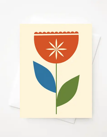 Amber Leaders Designs - Tulip Card