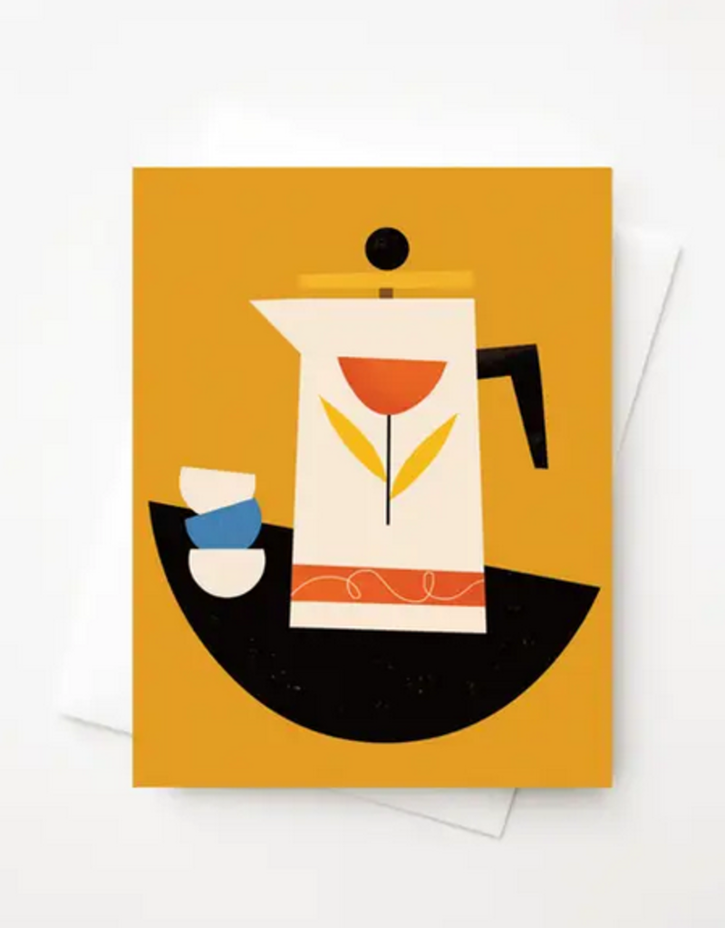Amber Leaders Designs - French Press Card