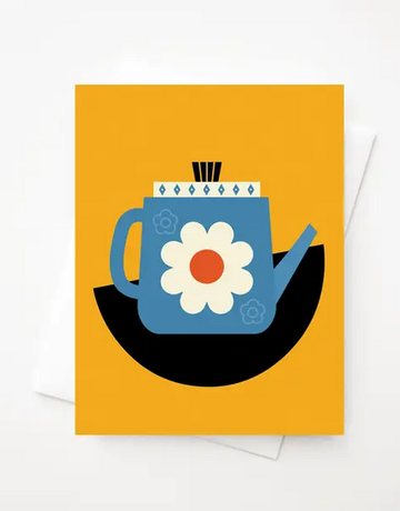 Amber Leaders Designs - Fika Kettle Card