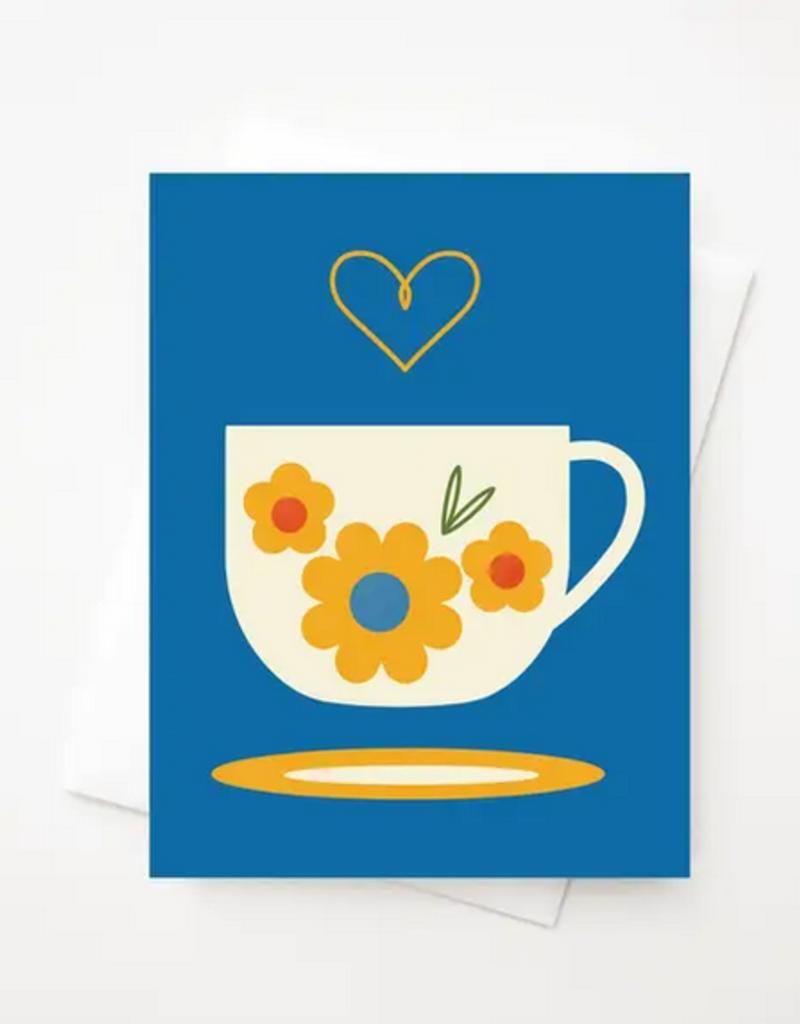 Amber Leaders Designs - Fika Cup Card