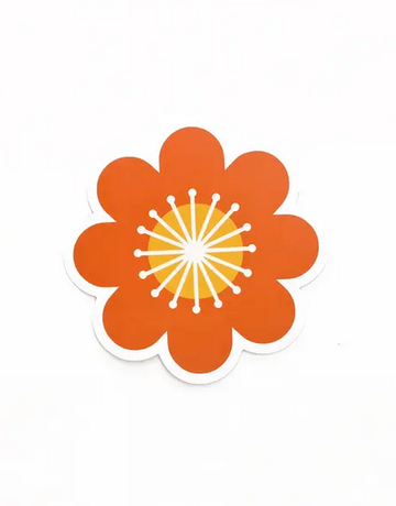 Amber Leaders Designs - Bold Flower Sticker