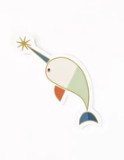 Amber Leaders Designs - Narwhal Sticker