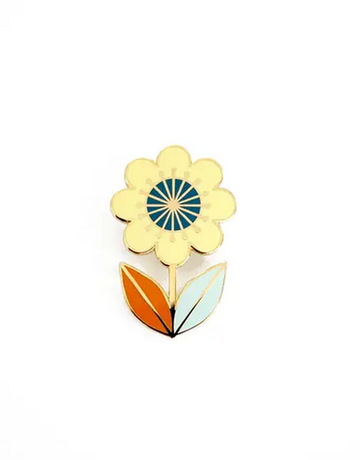 Amber Leaders Designs - Flower Pin