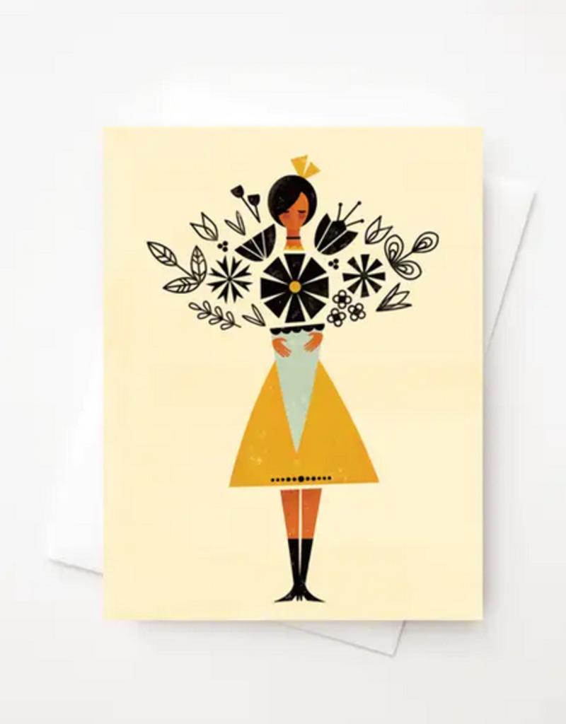 Amber Leaders Designs - May's Flowers Card