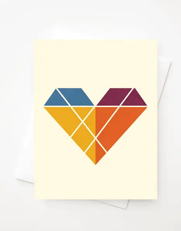 Amber Leaders Designs - Heart Card