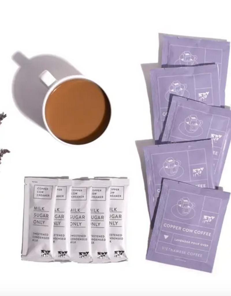 Copper Cow - Lavender Latte - Coffee