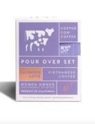 Copper Cow - Lavender Latte - Coffee